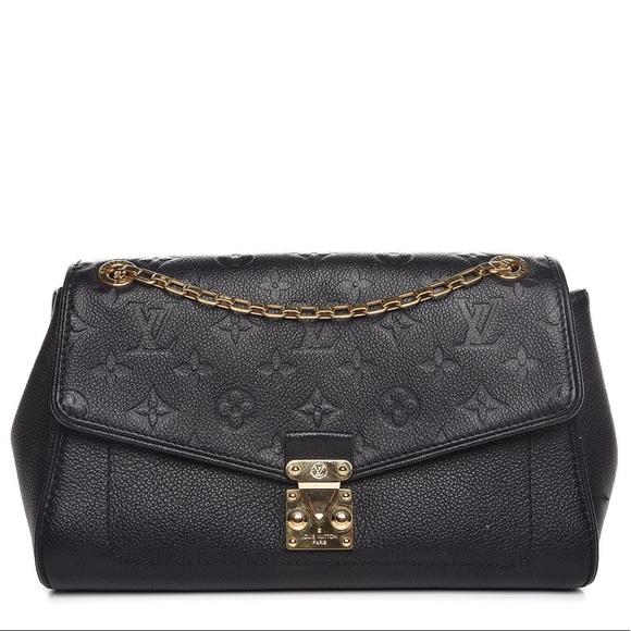 Louis Vuitton Handbags - {Louis Vuitton} Black Empreinte Saint German PM
